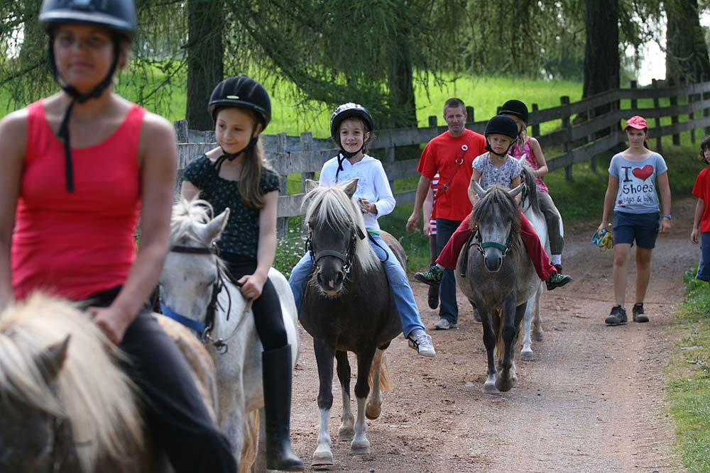 Riding holiday for children